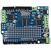 ouying1418 Blue Motor/Stepper/Servo/Robot Shield For Arduino v2 with
