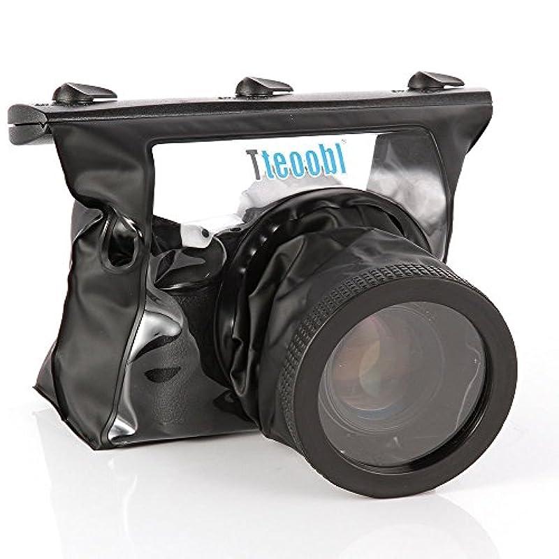 Tteoobl 하우징 케이스 20M수중 방수 케이스 캐논550D 60D 5D II 600D 7D니콘D90 D7000 일안레플렉스 대응 블루