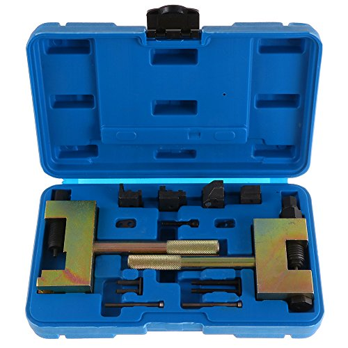 - ECCPP Engine Timing Locking Tools Diesel Engine Timing Chain Tool Timing Chains Separating and Riveting Tool Kit Replacement Temple Chain Guides Plungers fit for Mercedes Benz W203 W212