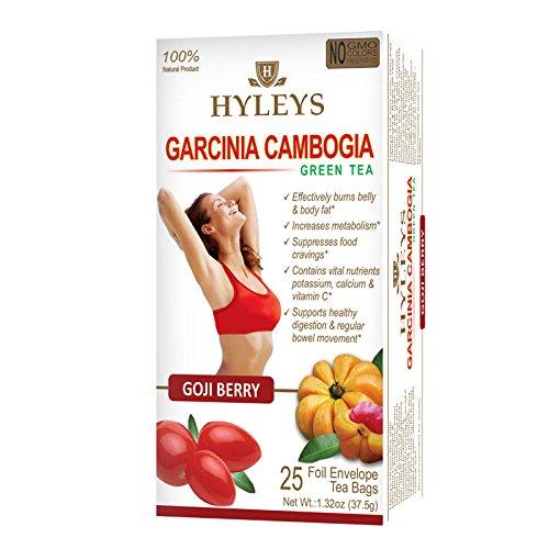 Hyleys Garcinia Cambogia Goji Berry Tea - 25 Tea Bags ()