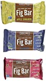 Nature's Bakery Stone Ground Whole Wheat Fig Bar (36 Count) 2 oz Twin Packs, Variety pack 12-Apple Cinnamon, 12- Blueberry, 12-Raspberry (36 Count)
