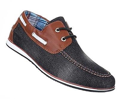 Herren Schnurschuhe Schuhe Business Look Halb Schuhe