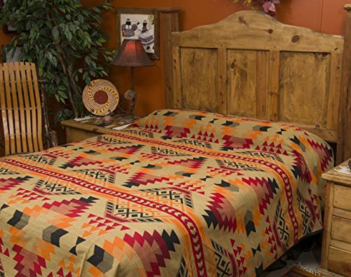 Western Indian Blanket Bedspread Pueblo product image