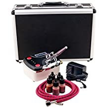 Paasche Airbrush Makeup Airbrush and Compressor Kit with Case, 30.4 Ounce