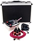 Paasche Airbrush Makeup Brush and Compressor Kit with Case