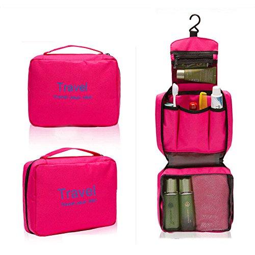 Waterproof 5-Piece Packing Bags (Red) - 6