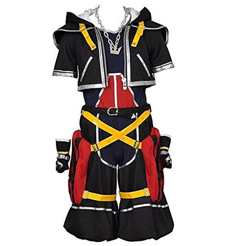 Kingdom Hearts Cosplay Costume-Sora 1st Original Colour Medium