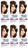 Clairol Nice n' Easy Hair Color #75 Light Ash Brown (Pack of 6) UK Loving Care + FREE Old Spice Deadlock Spiking Glue, Travel Size.84 Oz