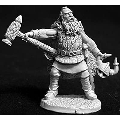 Tharn Helmsunder - Viking Cleric MINT/New: Toys & Games