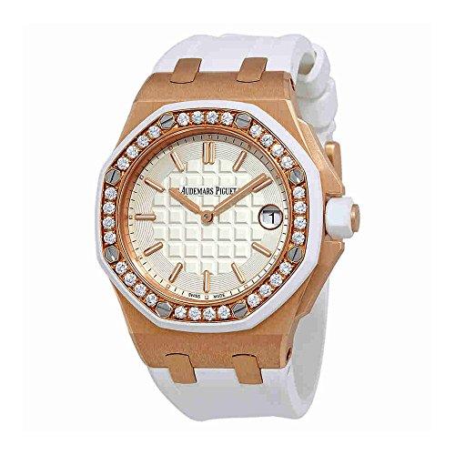 Audemars Piguet Royal Oak Offshore Silver Dial Ladies Watch 67540OKZZA010CA01