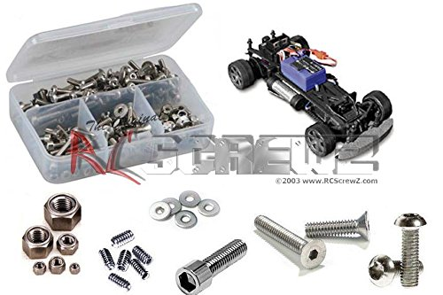 RC Screwz Stainless Steel Screw Kit for HPI Racing Micro RS4 - Racing Micro Hpi