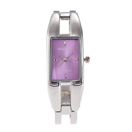 SPORTWATCHES Relojes Hermosos, Reloj Mujer Aleación Estudiante Pulsera Reloj Vida Impermeable Slingshot Mujer