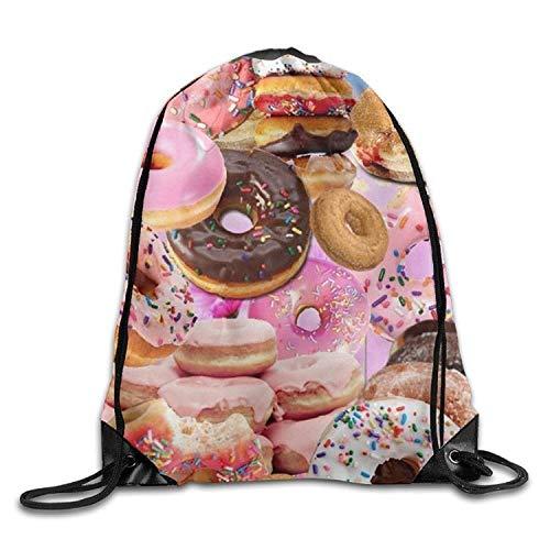 Bnialaed Tropical Drawstring Bag Sport Gym Backpack Gym Bag Lightweight Drawstring Gym Yoga Runner Bags For Men Women ()