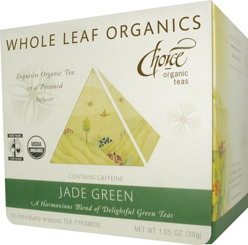 Choice Organic Whole Leaf Organics Tea Pyramids