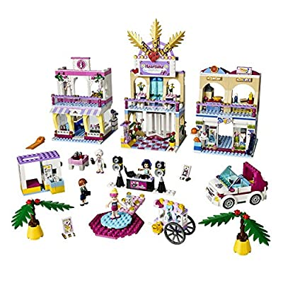 LEGO Friends Girls Heartlake Shopping Mall Kids Building Set   41058: Toys & Games