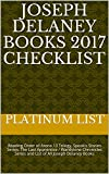 joseph delaney books 2017 checklist reading order of arena 13 trilogy spook s stories series the last apprentice wardstone chronicles series and list of all joseph delaney books