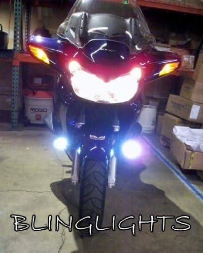 BlingLights Compatible Blue LED Fog Lights for Honda Pan-European ST1100 ST1300