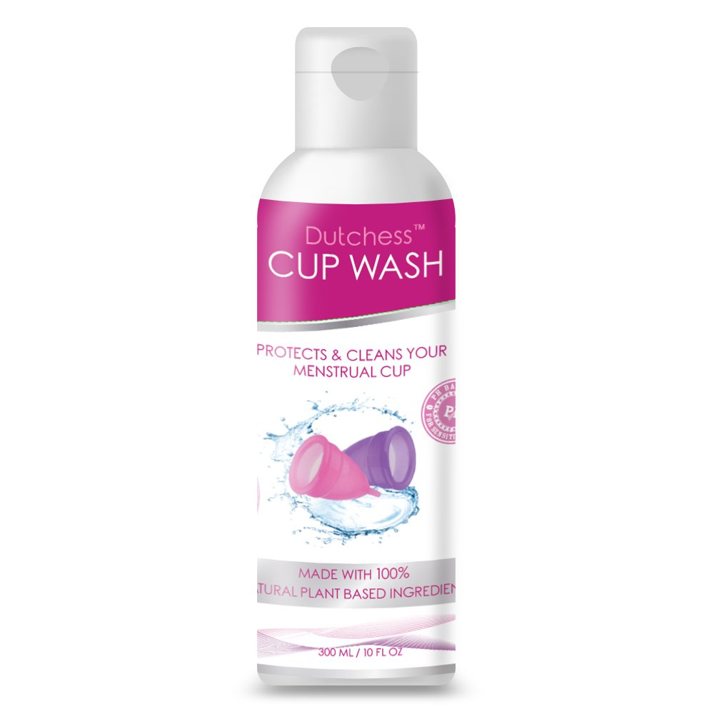 Menstrual Cup Wash 300ml Premium Liquid Cleaner for Period Cups