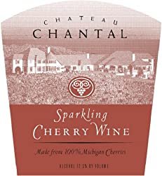 NV Chateau Chantal Michigan Sparkling Cherry Wine