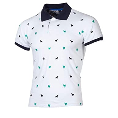 SWISSWELL Homme Polo T-Shirt à Manches Courtes Grande Taille Polo ...