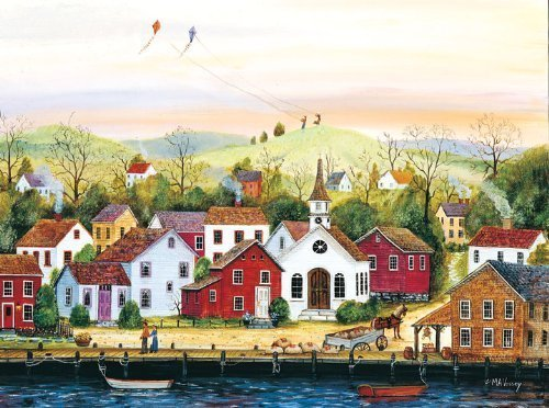 Simple Times High Flyers 500 Piece Puzzle by Master Pieces