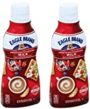 Eagle Brand Sweetened Condensed Milk Squeeze Bottle, 14 oz (2) Larger Image