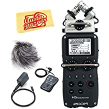Zoom H5 Handy Recorder Bundle with Zoom APH-5 Accessory Pack and Austin Bazaar Polishing Cloth