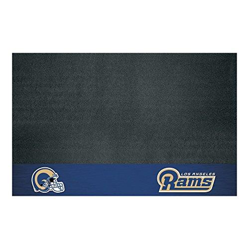 Fanmats NFL Los Angeles Rams Vinyl Grill Mat by Fanmats