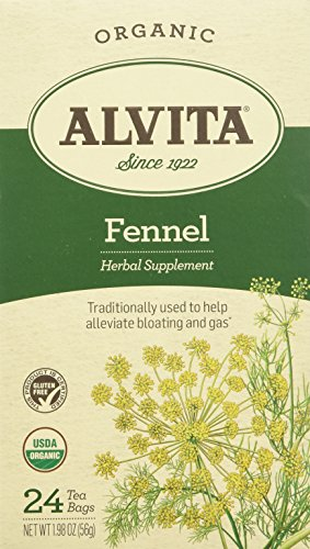 Fennel Seed Tea - Fennel Seed Tea Organic Alvita Tea 24 Bag