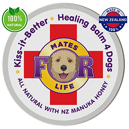 K9 Healing Balm for Dogs, All Natural, with Manuka Honey +20 UMF, for Skin, Nose and Paws, 50g