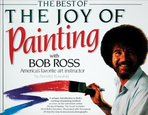 Bob Ross Books-The Best Of The Joy Of Painting