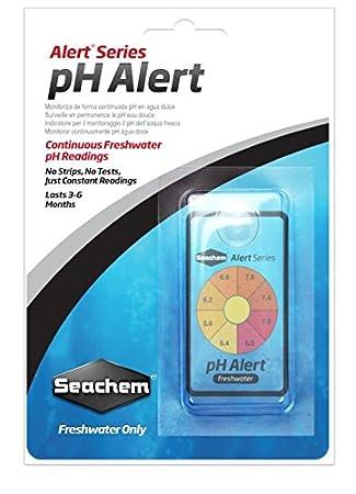 amazon com seachem ph alert for freshwater aquarium test kits