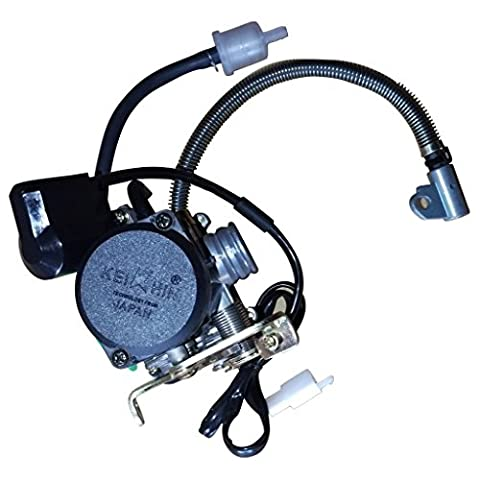 Mega Brands New Carburetor 49cc 50cc 4 Stroke GY6 Engine 139QMB 139QMA 50QT w Electric Choke - Stroke Engine Carburetors