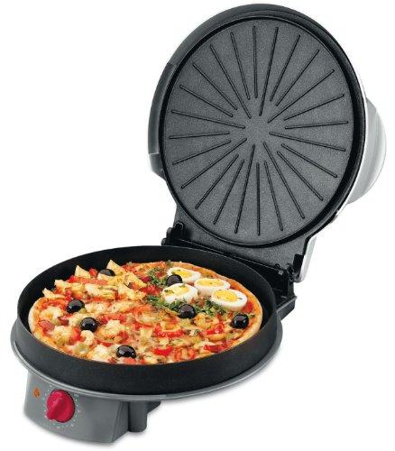 Fagor Mg 300 - Horno para pizzas con tapa, color gris y negro ...