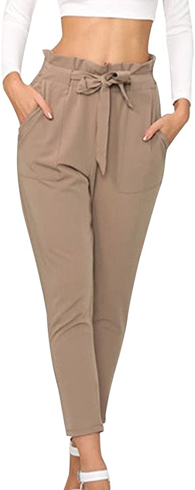 pantalon large bout serré