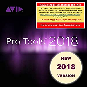 Avid Pro Tools 2018 Academic (Download Card +...