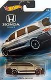 hot wheels mini van - Hot Wheels - Honda Series - Honda Odyssey Van - Silver with Black Stripes and Highlights - Unique Art Card!