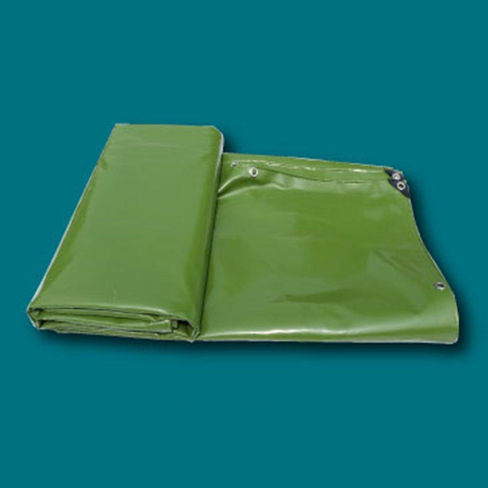 KKCF オーニング オーニング サンシェード オーニングシェード タープ  オーニング 日よけ PVC 天幕ナイフ布 レインカバー キャノピーシェルター 防水 日焼け止め 耐摩耗性、 650g/m²、 厚さ0.55mm、5色 (色 : Green, サイズ さいず : 5x6m) B07FXR5HFC 5x6m|Green Green 5x6m