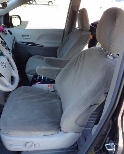 Durafit Seat Covers SN25 X7 Toyota Sienna LE And XLE 8 Passenger Van