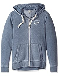 Bench mens Burn Out Zip Hoodie