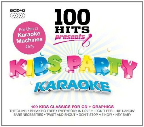(Karaoke: 100 Hits Presents Kids Party Box set, Karaoke, Import Edition by 100 Hits (2010) Audio CD)
