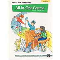 All-in-One Course for Children: Lesson, Theory, Solo, Book 2 (Alfred's Basic Piano Library) book cover