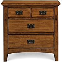 Cambridge 98129NS-Oak Sadona Nightstand, 4-Drawer