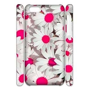 Daisy Customized 3D Cover Case for Iphone 5C,custom phone case ygtg559789