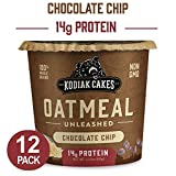 Kodiak Cakes Instant Protein Chocolate Chip Oatmeal in a Cup, 2.12 Ounce