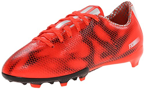 adidas Performance F10 Firm-Ground J Soccer Cleat , Solar Re