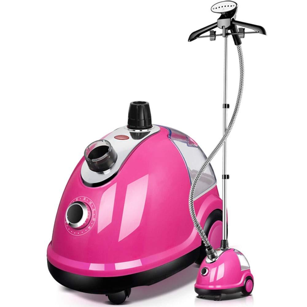 衣料品店家庭用スチームアイロンぶら下げホット機小型ハンドヘルドミニアイロン機(ピンク)ハイパワー1.8L B07S9NC6DD