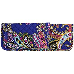 Vera Bradley Iconic Curling & Flat Iron Cover, Signature Cotton, One Size