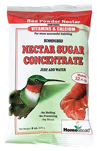 Homestead 8 oz Hummingbird Red Nectar Sugar Concentrate (Powder) - 4305 -