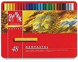 CREATIVE ART MATERIALS Caran D'ache Neopastel Oil Pastels Set/48 (7400.348)